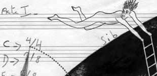 La vraie de vrai histoire du souffflle : performance P.Deleuze + Macrosillons