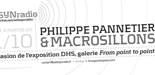 Philippe Pannetier & Macrosillons en podcast sur webSYNradio